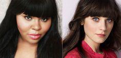 Zooey Deschanel Makeover · Makeover Monday · Cut Out + Keep Craft Blog