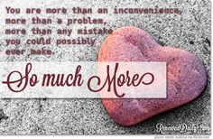 Recommendation Saturday: You Are More! - Renewed Daily