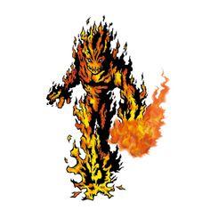 Meramon - Champion level Flame digimon