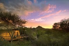 Exclusive Marataba Safari Lodge offers guests a five star luxury safari a mere four hours outside of Johannesburg