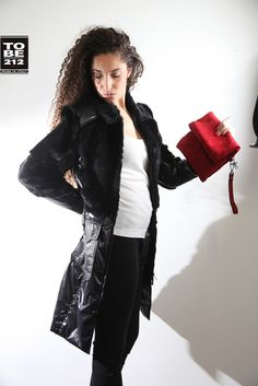 HG CAPPOTTO LEATHER TESSIT MEMORY COLOUR BLACK WITH LAPIN