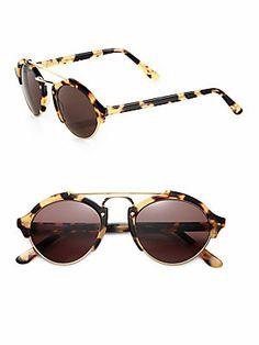Illesteva Milan Round Sunglasses