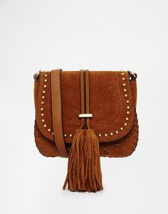 Faith Saddle Bag With Tassle Detail At Asos