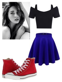 """Well I guess I'm single now, anyone wanna talk? -Sarah"" by xoreoanonsx ❤ liked on Polyvore featuring Converse"