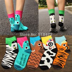 Women's Socks & Hosiery Capable Street Style Harajuku Socks Women Letters Japanese Fashion School Girls Warm Custom Hosiery Crew Art Sock Halloween Christmas