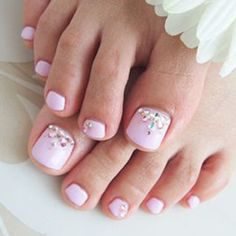 5 Pretty Pedicures Because Winter Won T Last Forever Cute Toenail