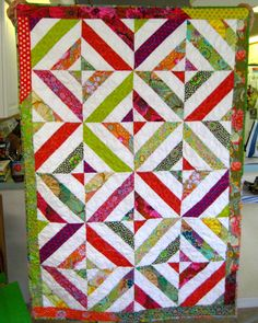I'm feeling pretty good about the progress I am making on my backlog of quilts for customers, as well as my growing pile of UFOs of my own. Quilting Tips, Quilting Tutorials, Quilting Projects, Sewing Projects, Star Quilts, Easy Quilts, Quilt Blocks, String Quilts, Jellyroll Quilts