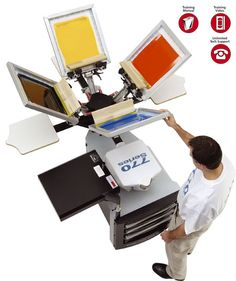 screen printing machine best screen printing machines of screen printing equipments, silkscreen printing Machines for small business Screen Printing Equipment, Screen Printing Press, Digital Printing Machine, Screen Printing Machine, Pvc Fabric, Useful Life Hacks, Printing Services, Creative Design, Printed Shirts