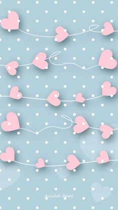 New wall paper iphone cute pink backgrounds polka dots ideas