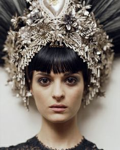 A head dress! Something we all need in our closet, right?