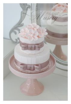 イニシャルクレイケーキ の画像|一般社団法人日本Museryクレイケーキ協会(JMCA)