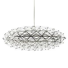 2015 Lvd For Lustres New Arrival Modern Lampshade Chandelier Moooi Raimond Double Stainless Steel Etching Led Oval Fireworks