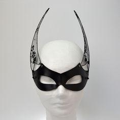 """Isis"" Leather Mask"