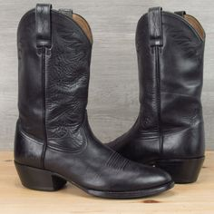 Vintage Justin Cowboy Boots Made in USA 10.5 D | D, Products and Boots