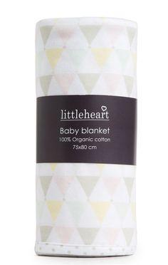 Confetti blanket pastel | Littleheart - ekologiska bäddset och filtar för baby