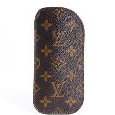 e04c35a3fd4 Louis Vuitton Louis Vuitton Vintage Monogram Etui Lunettes Plat Eyeglass  Case Vintage Monogram
