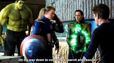 Hilariously people said that Loki was muzzled in avengers coz he was dangerous but in endgame it is shown he was just an annoyingly cute idiot Marvel Jokes, Avengers Memes, Marvel Actors, Marvel Funny, Marvel Heroes, Marvel Avengers, Marvel Comics, Stan Lee, Tony Stark