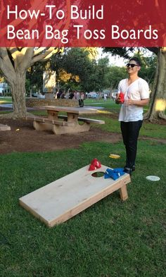 How-To Build a Bean Bag Toss Board | eHow