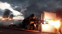 "Battlefield 4: ""Angry Sea"" Carrier Combat"