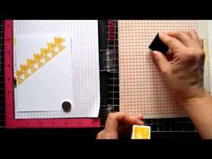 Stamping Patterns with MISTI - YouTube
