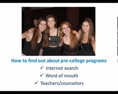 Information about Pre College Programs