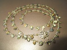 Keshi Peals with Swarovski Crystal and Gold Filled Beads by mdeja, $126.00
