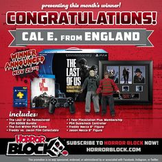 Congratulations to Cal E. from England! Our lucky subscriber won this month's awesome #BeastBlock!