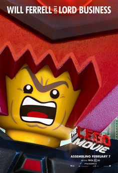 He's a micro-managing entrepreneur with a thirst for world domination. Will Ferrell is Lord Business! | LEGO Movie