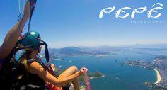 Sobrevoando Niterói a 1200mts de altura em um vôo magnífico e uma vista privilegiada!!!  Venha voar vc também é ganhe grátis fotos e vídeo em HD!! Pepê - 21 992975009  www.pepeparapente.com.br  #Pepêparapente #parquedacidade #youcanfly #liberdade #Vooduplo #niteroi #voolivre #parapente