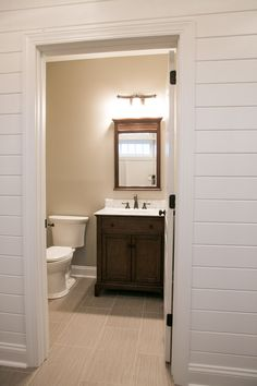 Vanity set-up using a warm, darker finish on a textured wood ; having look of furniture by adding some detail to the toe kick area. Kitchen Cabinets Showroom, Kitchen Cabinets In Bathroom, Vanity Set Up, York Pa, Toe, Warm, Detail, Furniture, Design
