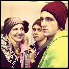 rydel, ratliff, and rocky lynch. Again Rocky looks like he hates everything
