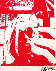 Painting - Ta Ta Telephone by Monica Warhol Andy Warhol Artwork, Paintings For Sale, Love Art, Contemporary Artists, Fine Art America, Screen Printing, Original Artwork, Telephone, Fine Art Prints