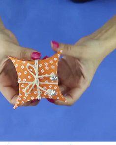 Diy Crafts Hacks, Diy Crafts For Gifts, Diy Home Crafts, Creative Crafts, Instruções Origami, Paper Crafts Origami, Cardboard Crafts, Oragami, Quilled Creations
