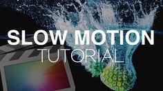 Slow Motion Tutorial – Final Cut Pro X