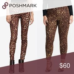 """Ralph Lauren Leopard Jeans Classic leopard print jeans with stretch. Slightly distressed at hem and pockets. Zipper detail at hem. In excellent condition with no issues. 5 pocket styling. 14.5"""" waist, 7.5"""" inseam and 24"""" inseam with 6.25"""" zippers! Runs small. Ralph Lauren Jeans Skinny"""