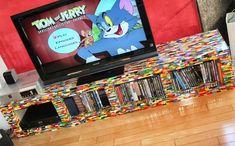 tv-meubel van lego