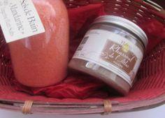 coffret f te des m res pot de 250 gr de sel de bain huile essentielle de mandarine pot de 200 gr de rhassoul volcanique bio multi usage en masque