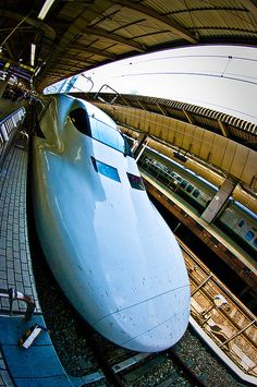 Shinkansen by dutchct, via Flickr