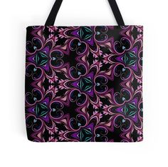 Abstract Floral Swirls and Flourishes