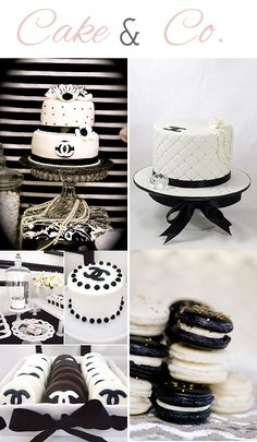 Chanel Inspired Themed Party