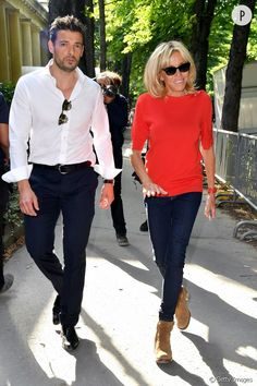 Fall Fashion Outfits, Casual Fall Outfits, Mom Outfits, Fall Winter Outfits, Autumn Fashion, French First Lady, Parisian Style, Brigitte Macron, Street Style