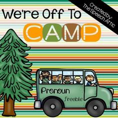 A FREE companion to my We're Off To Camp Grammar Pack. This pack includes: 54 cards with answer choices targeting subjective and possessive pronounsHomework worksheetHope you enjoy!!Please leave feedback when you download this product. Your feedback is important to me!Be the first to know about my new discounts, freebies and product launches: Look for the green star near the top of any page within my store and click it to become a follower.