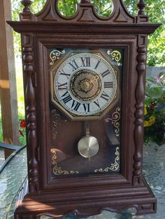 19 Best Vintage Mantel Clocks Images On Pinterest Cloaks