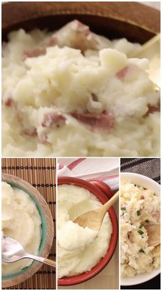 4 Pure de Papas Perfectos If you enjoy creamy potatoes, here are 3 easy ways to achieve perfection in a mashed potato. Kitchen Recipes, Cooking Recipes, Healthy Recipes, Good Food, Yummy Food, Tasty, Potato Recipes, Chicken Recipes, Perfect Mashed Potatoes