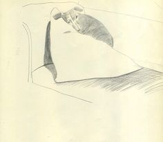 """ David Hockney Dog Days"