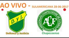 Defensa y Justicia X Chapecoense - AO VIVO - Copa Sulamericana 28-06-2017