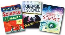 This collection includes the following titles: Forensic Science (FL), Mysteries and Marvels of Science (FL), and What's Science All About? (FL).