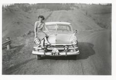 Grandma and 1951 Ford Coupe