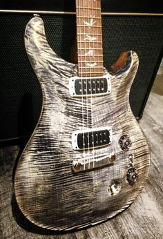"PRS ""Paul's Guitar"" in charcoal. Well then. Found another guitar that I'm gonna own for sure some day. New dream guitar ; Prs Guitar, Guitar Shop, Music Guitar, Guitar Picks, Cool Guitar, Bass Guitars, Guitar Chords, Acoustic Guitar, Instruments"
