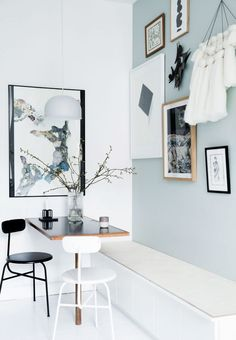 Genius Small Dining Room Layout Ideas - Page 39 of 74 Kitchen Interior, Home Interior Design, Interior Architecture, Kitchen Design, Room Interior, Room Inspiration, Interior Inspiration, Minimalist Dining Room, Gravity Home